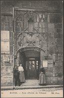 Porte D'Entrée Du Tribunal, Mantes, Yvelines, C.1905-10 - Neurdein CPA ND40 - Mantes La Jolie