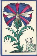 CPA Patriotique Satirique Caricature Guerre 14-18 Germany Kaiser Non Circulé Angleterre Grenouille - Guerre 1914-18