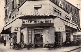 91-CORBEIL-ESSONNE- CAFE-TABAC DES SPORTS- GOLF MINIATURE - FACE AU STADE - Corbeil Essonnes