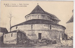 Corrèze - Eglise Historique De Saint-Bonnet-Larivière - Autres Communes
