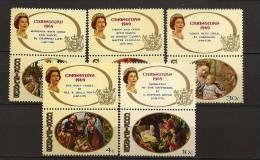 Cook 1969 N° 217 / 21 ** Noël, Tableau, Madone, Filippino Lippi, Bartolomeo, Nativité, Mengs, Campin, Corrège, Elisabeth - Cook