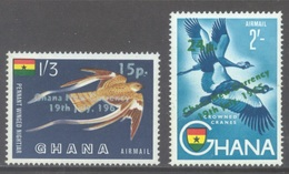 GHANA - 1965 - MNH/** - OVERPRINT - Yv PA 11-12  Mi 235-236 - Lot 17919 - Ghana (1957-...)