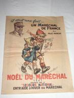 NOËL DU MARECHAL - 1941 - Couverture De GERMAINE BOURET - Secours National - Par PALUEL-MARMONT - Voir 19 Photos - Magazines & Papers