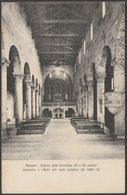 Interno Della Cattedrale, Fiesole, Toscana, C.1910 - STA Cartolina - Firenze (Florence)