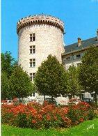 Cpm 73_CHAMBERY - Château Des Ducs De Savoie - Tour Demi-ronde - Voitures -  Ed Yvon N° 10/3817 - Chambery