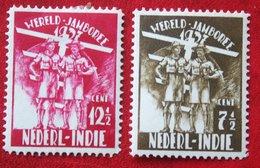 World Jamboree Scouting  NVPH 226-227 1937 Ongebruikt / MH NEDERLAND INDIE / DUTCH INDIES - Netherlands Indies