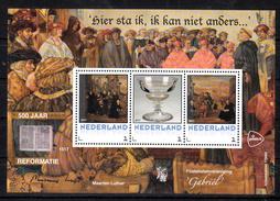 Nederland 2017 Personal Stamp PostNL: 500 Jaar Reformatie, Filatelistenvereniging Gabriel, Maarten Luther - Period 2013-... (Willem-Alexander)