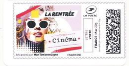 FRANCE LA RENTREE CINEMA étiquette Autoadhésive Neuve** MonTimbrenligne. Film, Movie. - 2010-... Geïllustreerde Frankeervignetten
