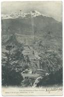 CARTE POSTALE / FORTS DE L'ESSEILLON SAVOIE / BRAMANS 1908 - France