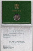 2018 - VATICANO - VATICAN -  MONETA COMMEMORATIVA 2 EURO - ANNO DEL PATRIMONIO CULTURALE 2018 - Vatican