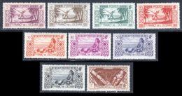 Oceanie 1939 Yvert 85-89-90-91-94- 96 -99 - 101-107 ** TB - Oceania (1892-1958)