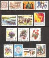 Finlande -Année Complète 1981 Entre Yv 840 à 854 =14 Valeurs . ** Mnh - Finlande