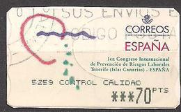 Spanien (2000)  Automatenmarke Mi.Nr.  39  Gest. / Used  (7aa01) - 1931-Heute: 2. Rep. - ... Juan Carlos I
