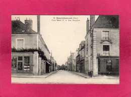 18 Cher, Henrichemont, Place Henri IV Et Rue Dauphine, Animée, Commerces, - Henrichemont