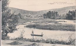 CPA - CAJARC - 6. Vue Prise De L'île Du Moulin - France