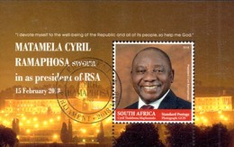 South Africa - 2018 President Ramaphosa MS (o) - Afrique Du Sud (1961-...)
