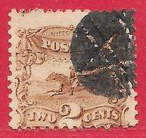 Etats-Unis D'Amérique N°30 2c Brun 1869 O - 1847-99 General Issues