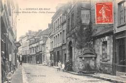 GOURNAY EN BRAY - Ancien Hôtel De Ville - Petite Fontaine - Gournay-en-Bray