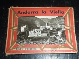 ANDORRA LA VIELLA - VALLS D'ANDORRA Série 5 - Pochette Contenant 10 Vues Différentes - ANDORRE (AC) - Andorre