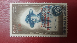 BENIN ? - MICHEL Mi ? SCOUTISME SCOUTING SCOUTS SCOUTISM LEBANON 140F - OVERPRINT OVERPRINTED SURCHARGE SURCHARGED - MNH - Benin - Dahomey (1960-...)