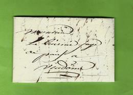 1801 VENDOME (Loir Et Cher) LETTRE COMPLETE ET SIGNEE Pour Le Juge De Paix De  VENDOME (Loir Et Cher) VOIR SCANS - Manuscrits