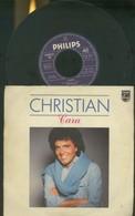 CHRISTIAN -CARA -UN GIORNO IN PIù -DISCO VINILE 1984 - Dischi In Vinile