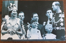 Coronation Of Elizabeth II, 2nd June, 1953, The Nostalgia Postcard Collectors Club, Yesterday's Britain 1890's-1950's - Familles Royales