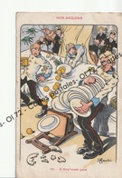 CPA - Militaria > Humoristiques - Our Sailors - A Sou'west Gale - H.Gervese - Humour