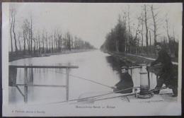 Marcilly Sur Seine (Marne) - Carte Postale Précurseur - Ecluse - Animée (Pêcheurs) - Non-Circulée - France