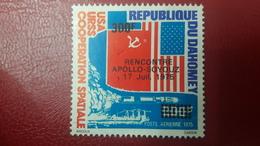 BENIN ? - MICHEL Mi ? - RENCONTRE MEETING APOLLO SOYOUZ USA URSS SPACE- OVERPRINT OVERPRINTED SURCHARGE SURCHARGED - MNH - Benin - Dahomey (1960-...)