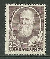 POLAND MNH ** 644 KRASZEWSKI écrivain Littérature - Unused Stamps