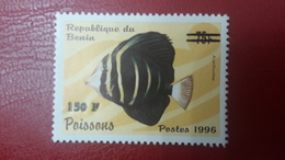 BENIN ? - MICHEL Mi ? - FISH FISHES POISSONS - OVERPRINT OVERPRINTED SURCHARGE SURCHARGED - MNH - Benin - Dahomey (1960-...)