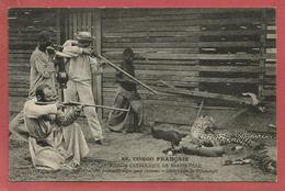 Saint Louis De L'Oubanghi - Oeil Pour Oeil Tigre Pour Chèvre / Chasse Léopard Fusil 1822 T Bis à Chien - Congo Français - Autres