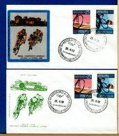 ITALIA - FDC FILAGRANO 1968 - IMOLA - CAMPIONATO CICLISMO - 6. 1946-.. Repubblica