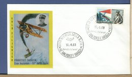 ITALIA - FDC FILAGRANO 1968 - FRANCESCO BARACCA - NERVESA DELLA BATTAGLIA - 6. 1946-.. Repubblica