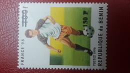 BENIN ? - MICHEL Mi ? - SOCCER WORLD CUP FOOTBALL 1998 FRANCE - OVERPRINT OVERPRINTED SURCHARGE SURCHARGED - MNH - Benin - Dahomey (1960-...)