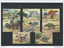 NAURU 2006 - YT N° 587/594 NEUF SANS CHARNIERE ** (MNH) GOMME D'ORIGINE LUXE - Nauru