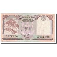 Billet, Népal, 10 Rupees, 2012, KM:61, B - Népal