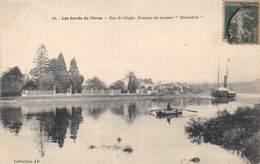 """MONDEVILLE - Bords De L'Orne- Bac De Clopée - Passage Du Steamer """"Hirondelle"""" - Sonstige Gemeinden"""