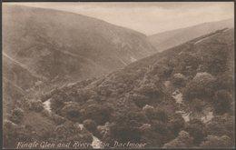 Fingle Glen And River Teign, Dartmoor, Devon, C.1920s - Frith's Postcard - England