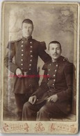 CDV 2 Soldats Du 36e Régiment-photo Prouzet à Paris - Krieg, Militär