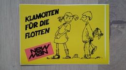 Aufkleber Mit Kleidermarken-Werbung (New Man) Aus Deutschland - Stickers