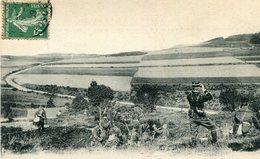 Militaria Militaire Le 15 ème Chasseurs à Pied Aux Manoeuvres Des Vosges En Observation Au Col Du Plafond - Maniobras