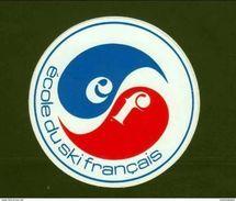 *  Ecole Du Ski Francais  * - Stickers