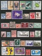WORLDWIDE---Collection Of USED DL-643 - Stamps