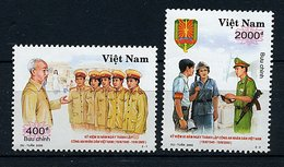 Vietnam ** N° 1914 - 1915 - 55e Ann De La Police Vietnamienne - Viêt-Nam