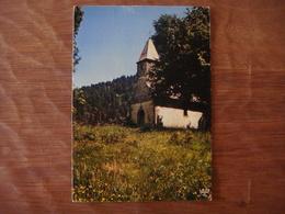 France - Vosges - LONGEMER - Chapelle St Florent - Xonrupt Longemer