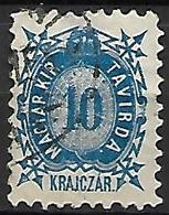 HONGRIE   -   Timbres - Télégraphe.   1873  .  Y&T N° 2 Oblitéré - Télégraphes