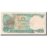 Billet, Indonésie, 500 Rupiah, 1988, KM:123a, TB - Indonésie