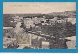 Vue Du Zihrie Cote Ouest De La Ville Tripoli Lebanon Liban Syria Syrie Timbre Turc CAD 1913 Ed David - Libano